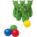 Cone frog, 10 parts, 3x3x11cm