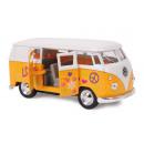 Großhandel Spielwaren: Modellauto VW´63 T1 Bus , 11x5x5cm