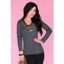 wholesale Shirts & Blouses:Blouse CG019 Gray
