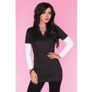 wholesale Shirts & Blouses:Tunic CG034 Black