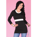 wholesale Shirts & Blouses:Tunic CG033 Black