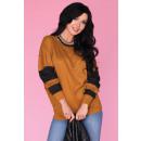 wholesale Shirts & Blouses: Blouse CG027 Brown size - S / M