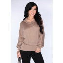 wholesale Shirts & Blouses: Blouse CG028 Brown size - S / M