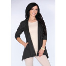 wholesale Coats & Jackets:Coat CG026 Black