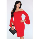 Großhandel Kleider:Yolandena Kleid Rot 1734