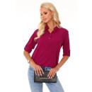 wholesale Fashion & Apparel: Blandinea Purple 85275 blouse size - S / M
