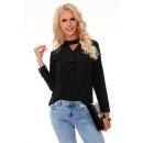 groothandel Kleding & Fashion: Nildana Zwarte 85280 blouse