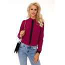 Großhandel Hemden & Blusen: Ronada Purple 85276 Bluse