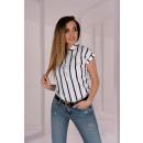 wholesale Shirts & Blouses: Ouranila White 85411 blouse
