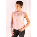 wholesale Pullover & Sweatshirts:Amargo Pink White blouse