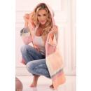 wholesale Pullover & Sweatshirts:Linnae Pink cardigan