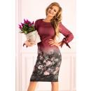 wholesale Dresses:Mitral Plum D49 dress