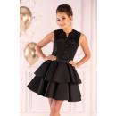 Großhandel Kleider: Karieela Kleid Schwarz 90543