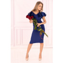 Großhandel Kleider: Maxtira Kornblumen Kleid 1114