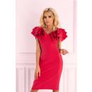 Großhandel Kleider: Maxtira Raspberry 1114 Kleid