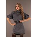 Großhandel Pullover & Sweatshirts: Joriana Dunkelgrauer Pullover