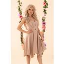 wholesale Dresses:Quellama Beige D54 dress