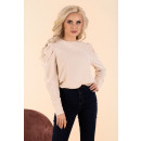 wholesale Shirts & Blouses:Siett Ecru B14 blouse