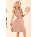 Großhandel Kleider:Violayam Beige D91 Kleid