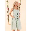 Großhandel Kleider:Eviniam Mint D89 Kleid