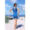 mayorista Ropa / Zapatos y Accesorios:Vestido Rosimna Azul