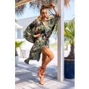 groothandel Bad- & handdoeken: Badjas Atenna Aquareel Collectie maat - ONE