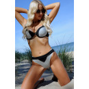 wholesale Swimwear: Lasair Gray LC 19061 swimsuit