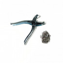 wholesale Haberdashery & Sewing: Pushbutton pliers incl. 25 press studs
