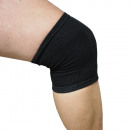 Knee bandage elastic black