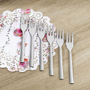 wholesale Cutlery: Cake forks set of 6 stainless steel