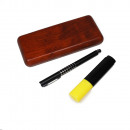 Writing set gift set wood rosewood look with tou