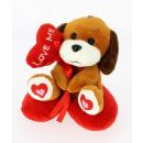 dog heart cushion 12 cms