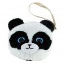 wholesale Wallets: panda crystal eyes purse 13x12 cms