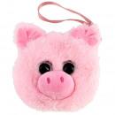 wholesale Wallets: pig glass eyes purse 13x12 cms