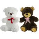 ours en peluche 4 couleurs 27 cm ( assorti )
