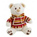 striped teddy bear sweatshirt 20 cms