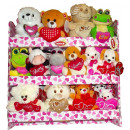 wholesale Dolls &Plush: Display animals in love 34 units