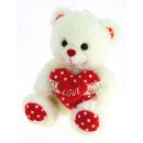 mole heart bear 20 cms