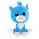 azul caballo ojos de cristal18 cms