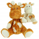 babybimar giraf 2 kleuren 20 cm
