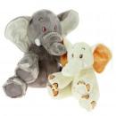 babybimar olifant 2 kleuren 18 cm