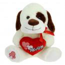 heart patch dog 20 cms