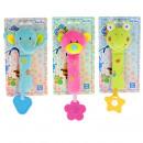 Großhandel Babyspielzeug: Tiere für Babys mehrfarbig 25 cm