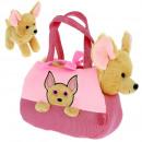 rose Chihuahua backpack 20x14