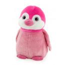 rosa pinguino ojos de cristal 27 cms