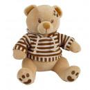 wholesale Pullover & Sweatshirts: brown bear sweatshirt 28 cms