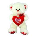 bear with heart on feet 35 cms
