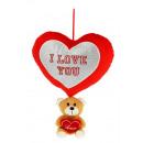wholesale Jewelry & Watches: bear 12 cms heart pendant 25 cms