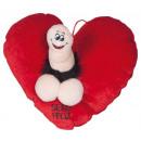 grossiste Accessoires erotiques:coeur pénis 50 cm.