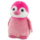 pinguino rosa 45 cms ojos de cristal